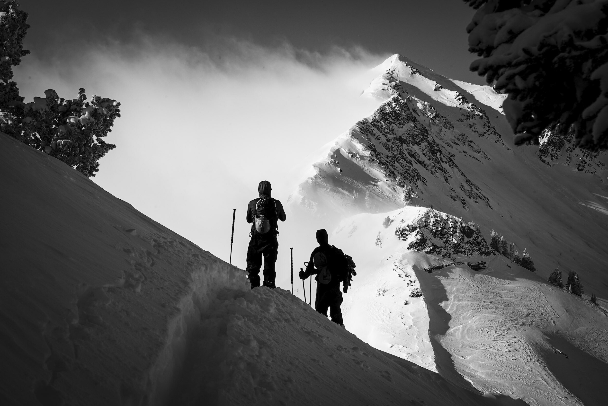 Cody & Pep surveying Mt. Superior //  [o]   @westonshirey