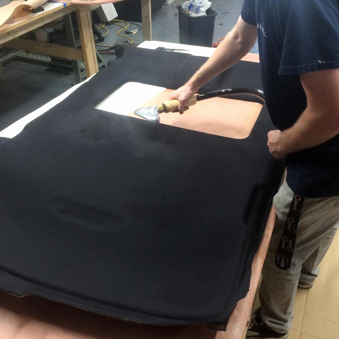 NW Crafted  takes every measure to make sure your custom headliner is perfect.