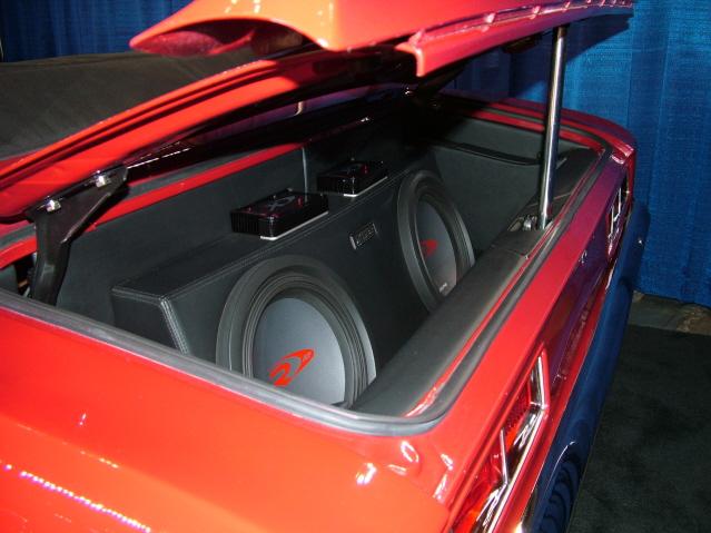 Custom Trunk with speakers