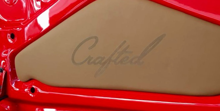 Buick- Custom Trunk - NW Crafted  Logo.