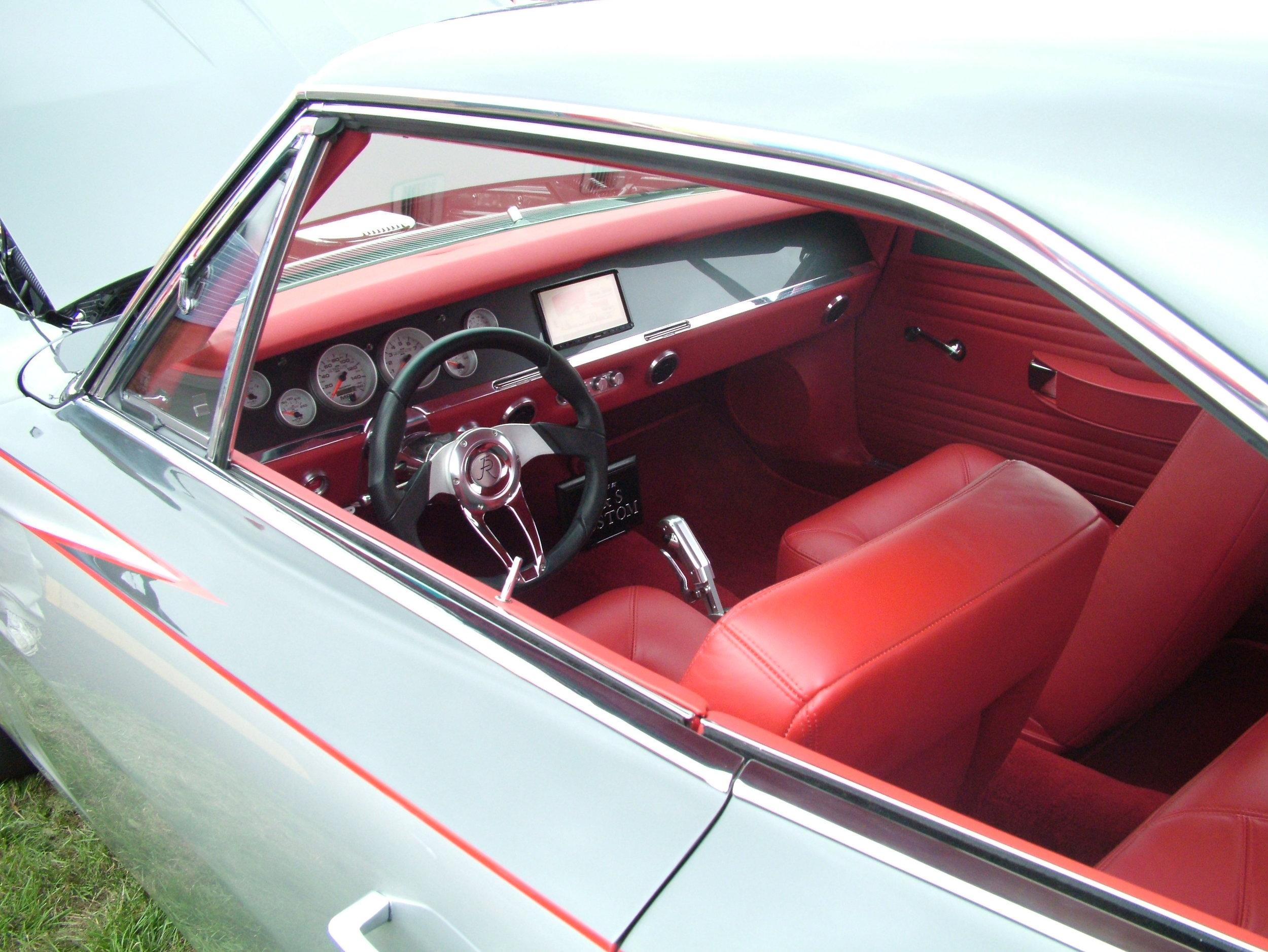 Charger - Full custom interior.