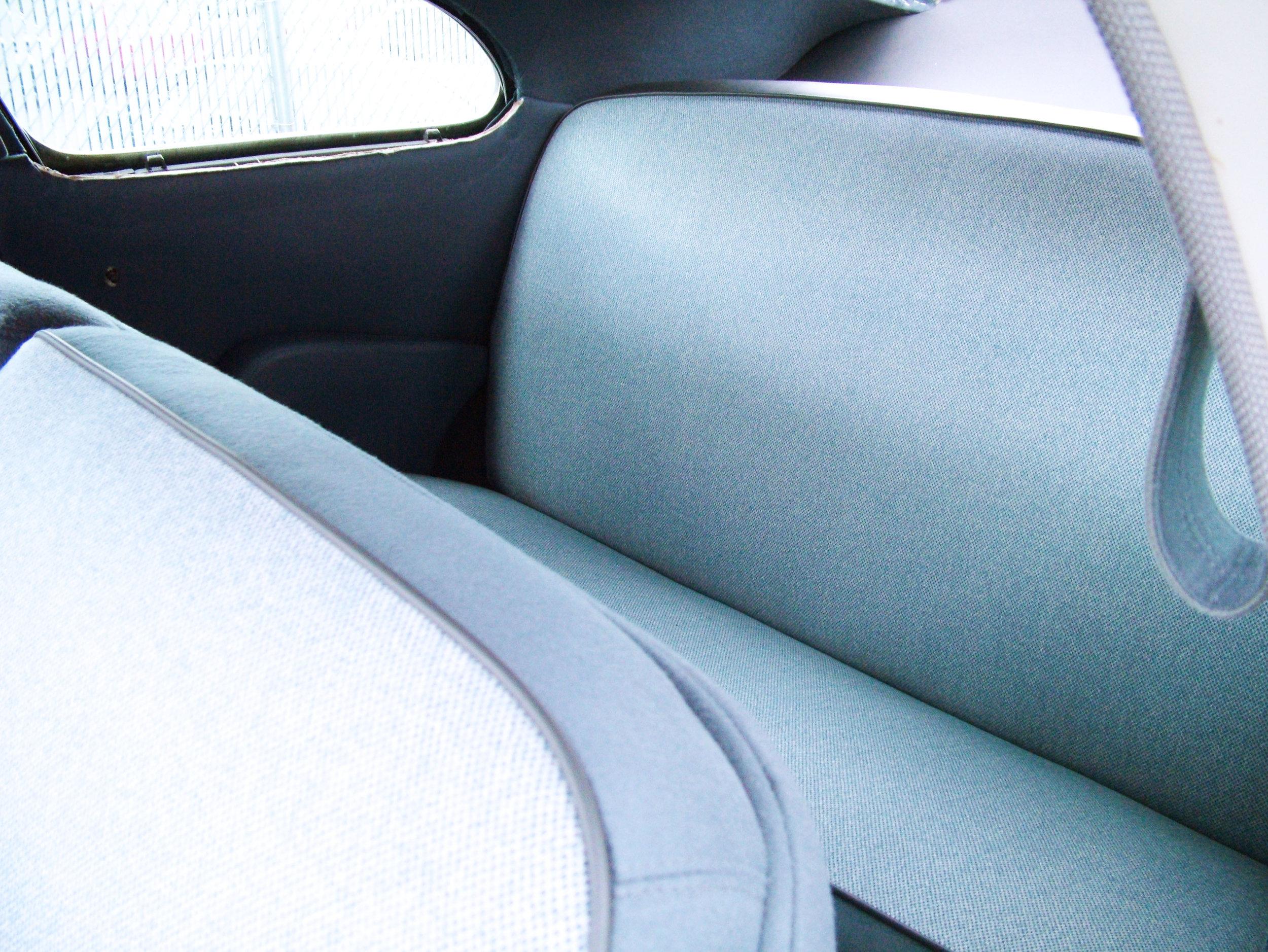 Cadillac - Interior Restoration - bench seat restoration.