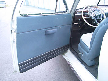 Cadillac - Interior restoration - Door panel restoration.