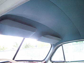 Cadillac - Interior restoration - Headliner repair