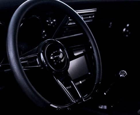 68 Camaro - Custom Leather Wrapped Steering Wheel