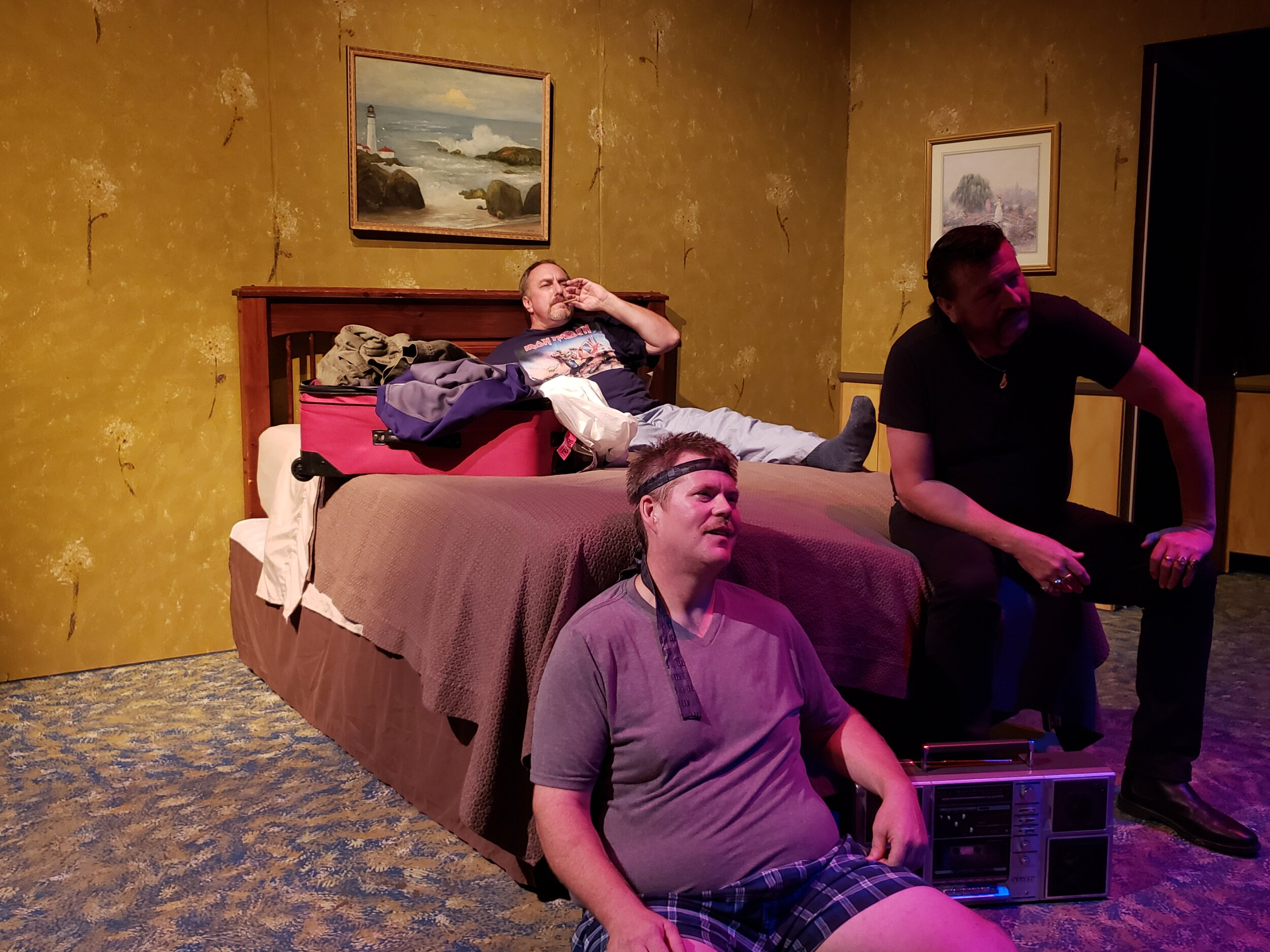 A great run in at Hillsboro Artists' Regional Theatre ends September 22. Check it out!  https://www.hart-theatre.org/2019/06/03/reunion/