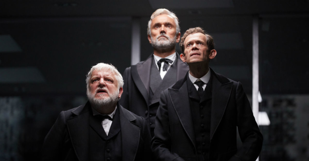 """National Theatre / Piccadilly Theatre: The Lehman Trilogy  """"Piano Player"""" - A mini-doc on the music by Nick Powell featuring MD Candida Caldicot;  https://www.facebook.com/nationaltheatre/videos/the-lehman-trilogy-the-piano-player/2109215749408597/   Yshani Perinpanayagam, alternate pianist"""