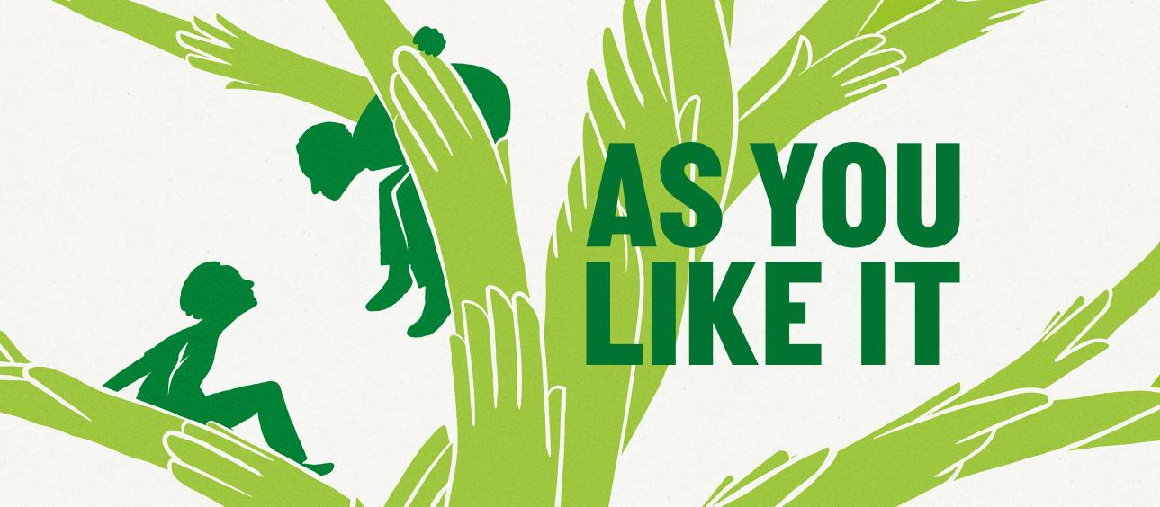 As You Like It: National Theatre Public Acts / Queen's Hornchurch  https://www.nationaltheatre.org.uk/shows/as-you-like-it-at-hornchurch  MD / keys