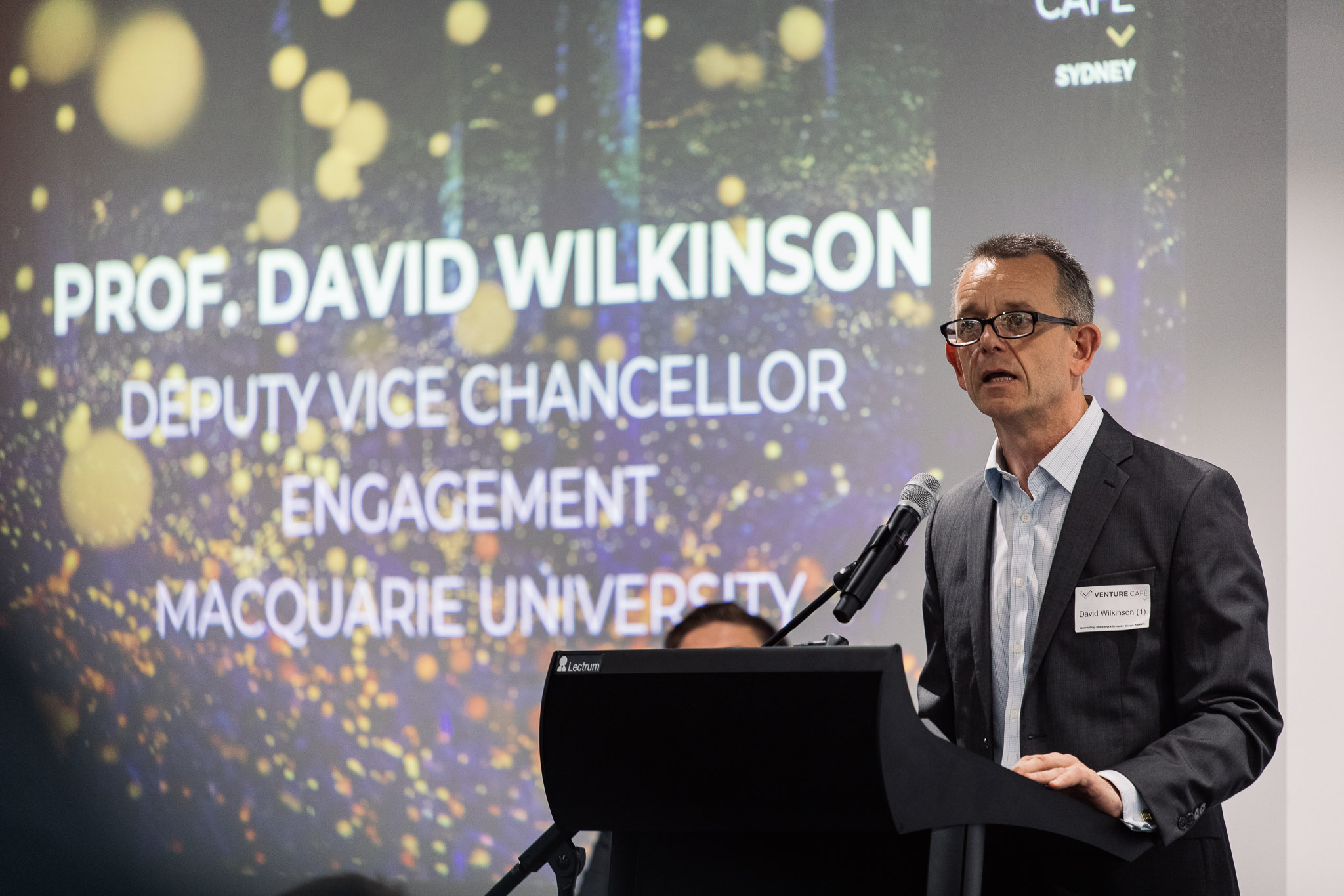 Professor David Wilkinson, Deputy Vice-Chancellor - Engagement at Macquarie University.