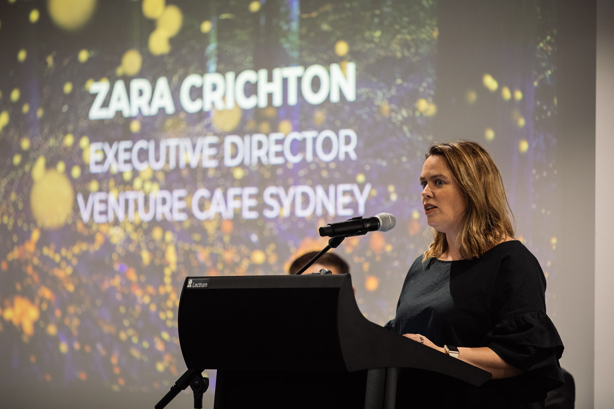 Zara Crichton - Venture Café Sydney Executive Director