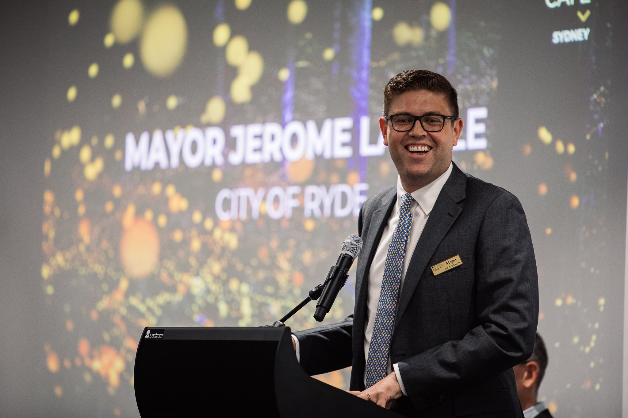 Mayor Jerome Laxale