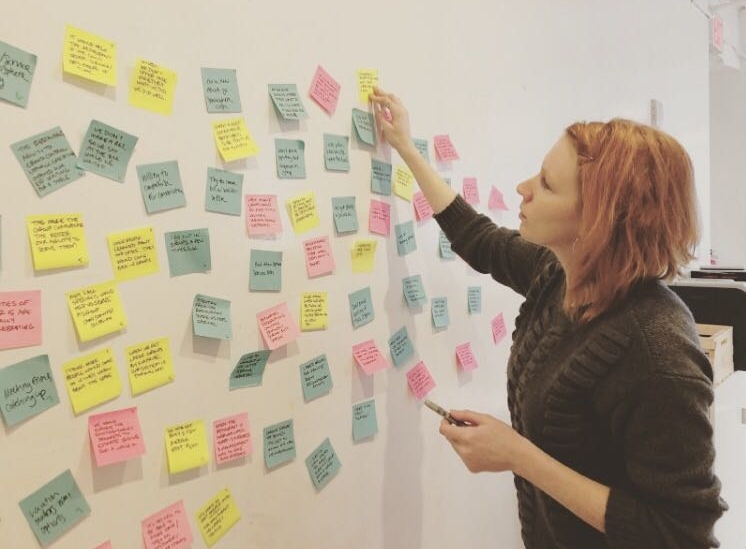 Affinity Mapping - We analyzed interview transcripts, summarized observations into succinct statements, and then grouped these statements into categories to highlight trends and reveal insights.