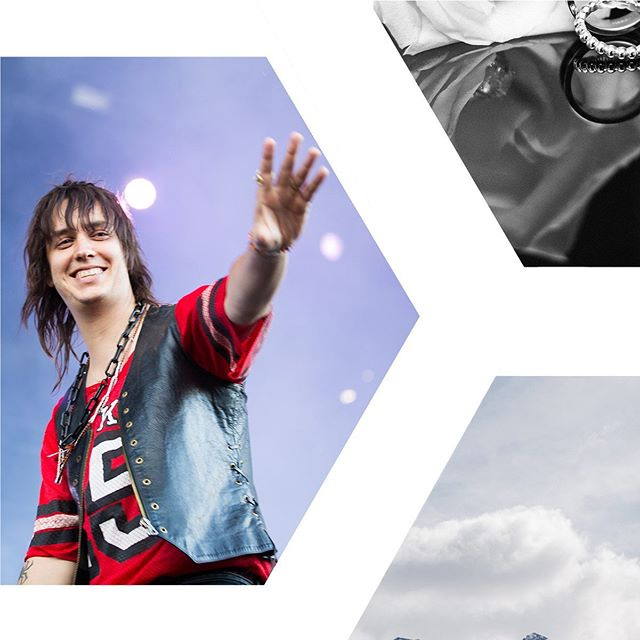 Good morning. Here's a little Julian Casablancas for you to rock out with your coffee. . . . #rockstar #governorsball #thestripes #thevoidz #concertphotography #celebrityphotographer #calgaryphotographer #juliancasablancas #concert #lastnight #travelphotographer #portraitphotographer #eventphotographer