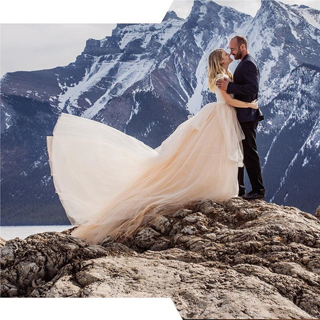 Lovely Cris and Danielle in Banff! Their love is palpable and real. Also, let's talk about That tulle, baby. And hey - Honey is currently booking 2020 & 2021 weddings! . New workshop and education announcements coming soon too! . Let's travel together and make beautiful photos. . . Shot at a recent HONEY event with @laurabarclayphotography in #banffnationalpark #banffweddingphotographer #banffwedding #rockymountainbride #rockymountainwedding #romance #tulleskirt #photographyworkshop #videoworkshop #italyworkshop #tuscanyworkshop #calgaryweddingphotographer #calgaryphotographer #banffphotographer #canmorephotographer #love #destinationwedding #destinationweddingphotographer #engaged