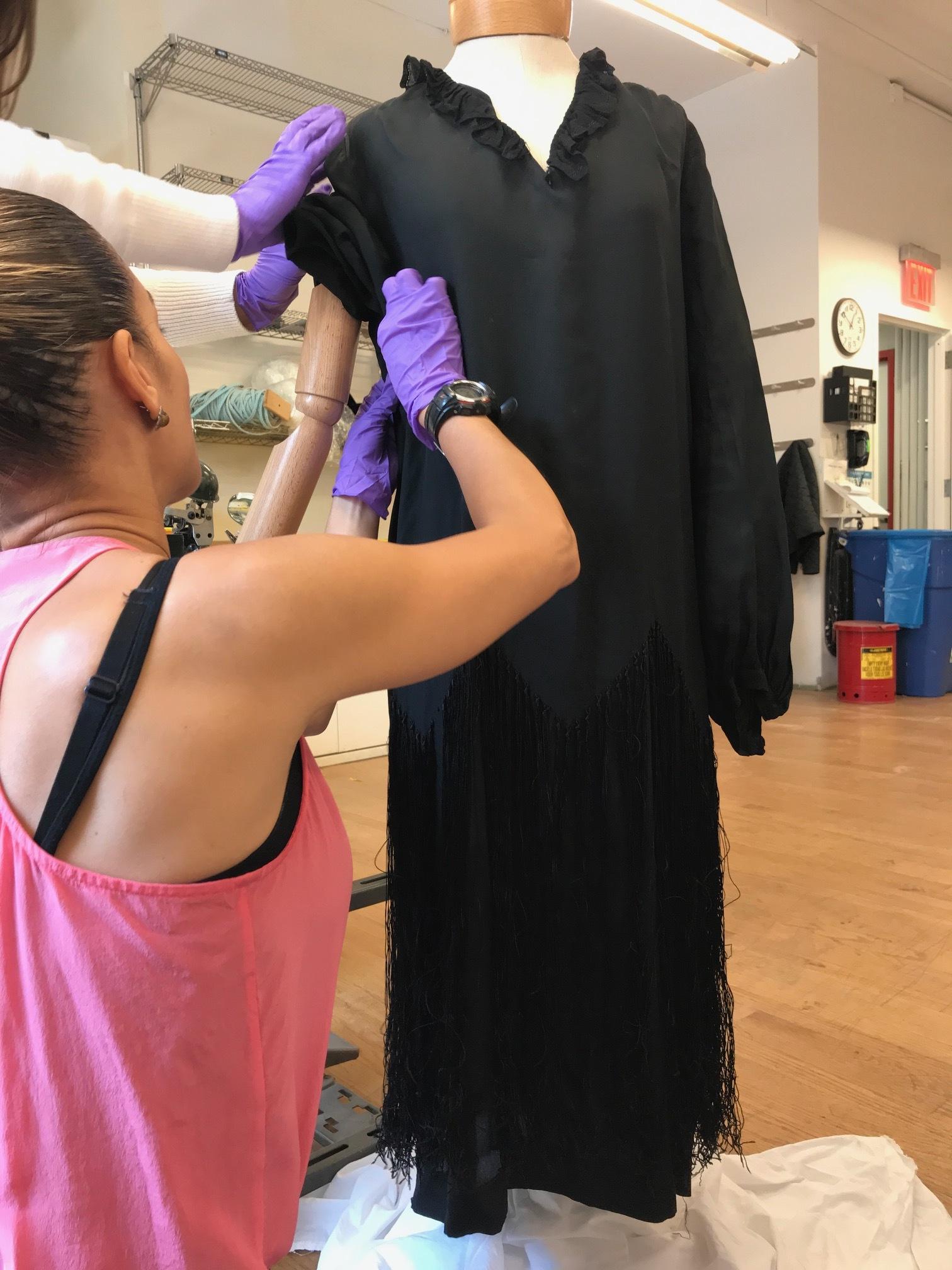 Silent film costume found in Fort Lee, NJ