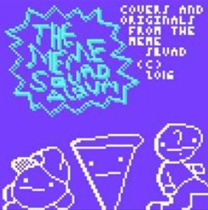 The album art for The Meme Squad Album, created by  Quirby64
