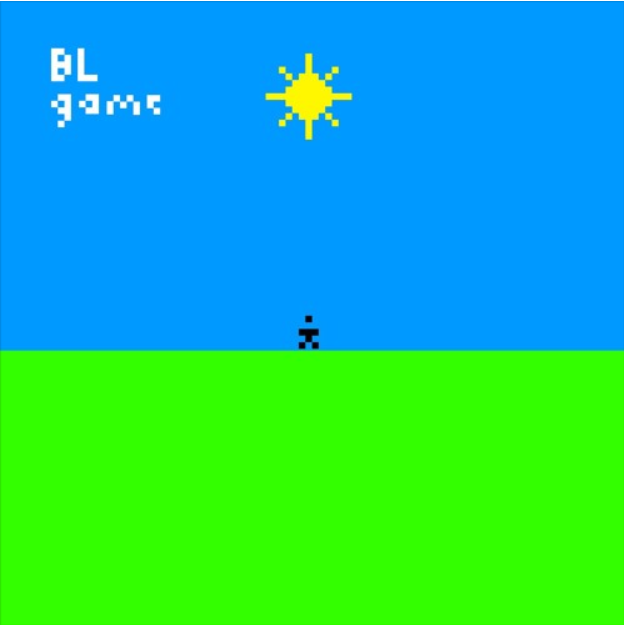 The Cover Art of game, Lumby's debut EP.