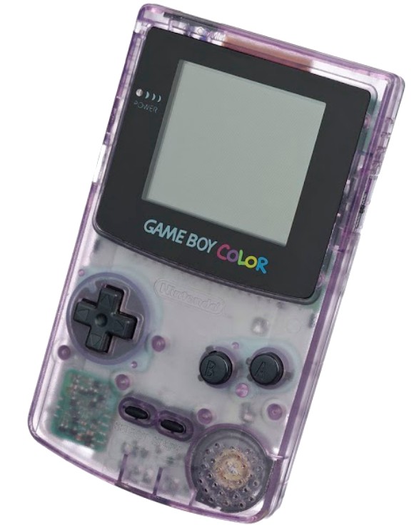 Atomic Purple GameBoy Color, just like the one I had when I was a little kid.