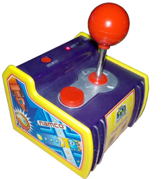 It wasn't the first time I played Pac-Man, but it was the first time I played Rally-X, which wasn't in Namco Museum 64.