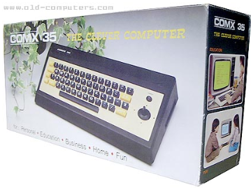 """The COMX-35, styled as the """"Clever Computer."""""""