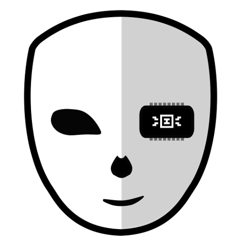 The DefleMask, er, mask, which serves as the program's logo.