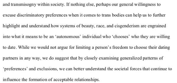 "Blair & Hoskin,  ""Transgender Exclusion from the World of Dating"""