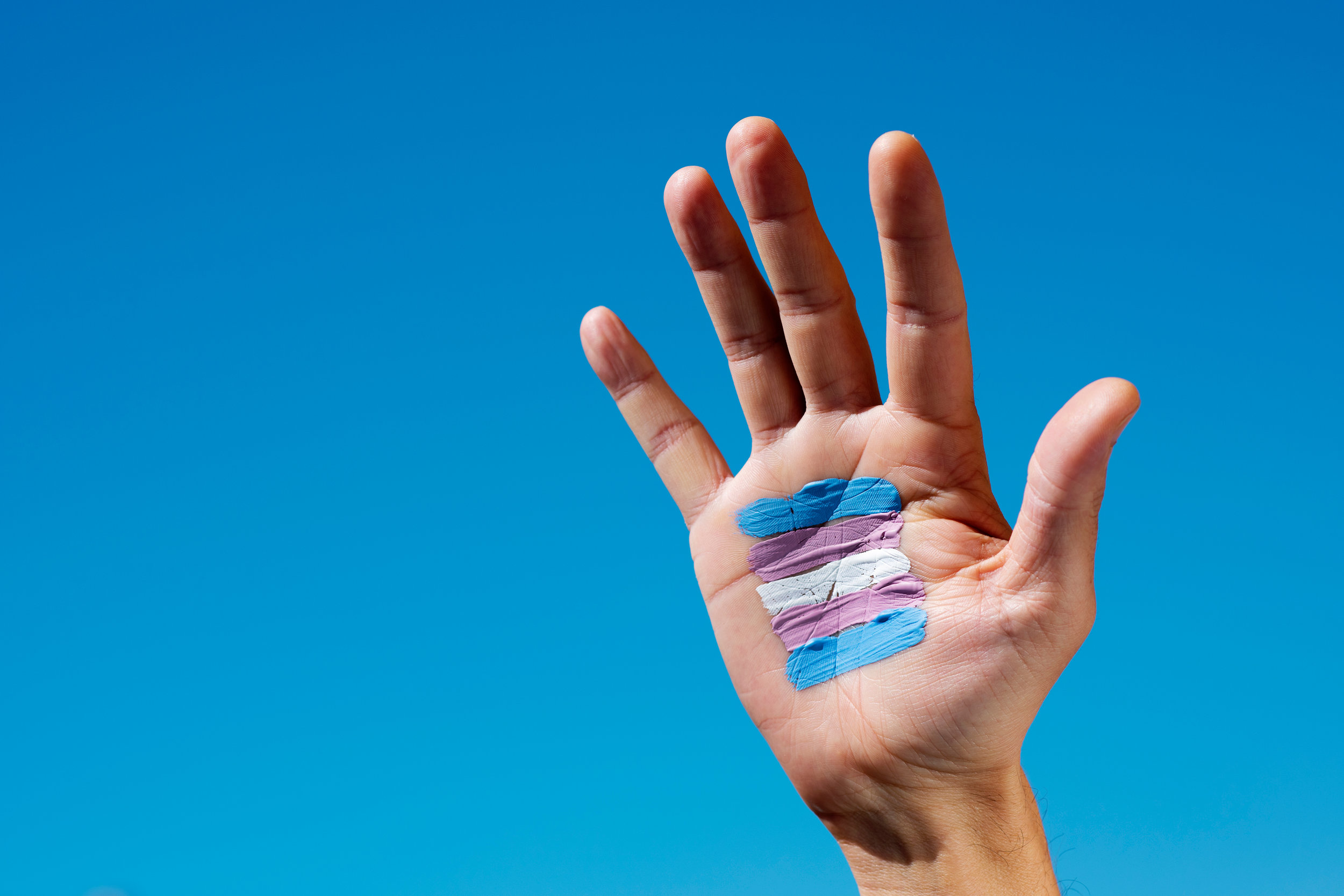 trans hand