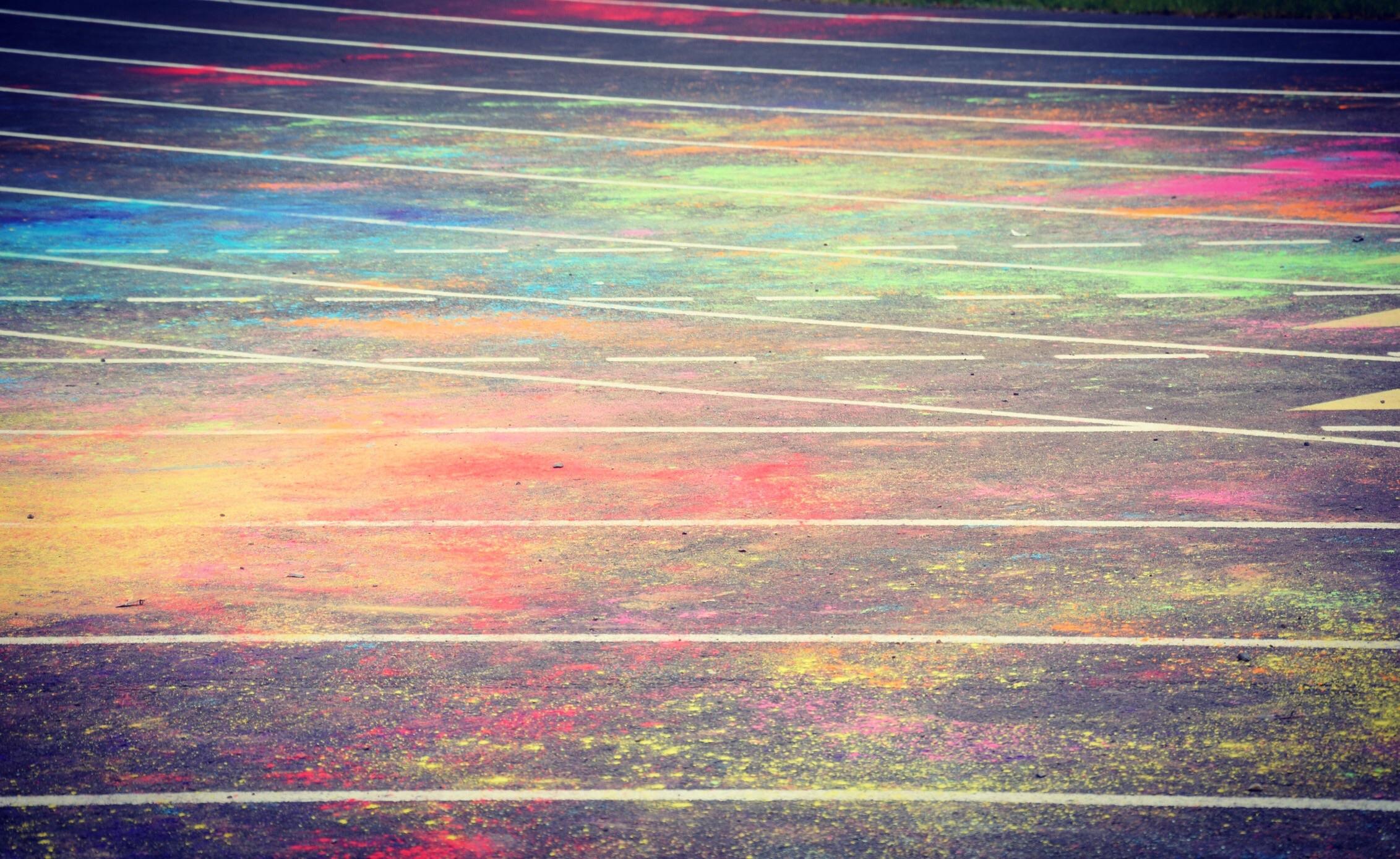 rainbow chalk gender health query LGBT