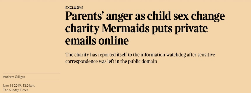 trans youth charity, Mermaids, scandal
