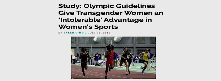 Trans women, advantage in female sports, study