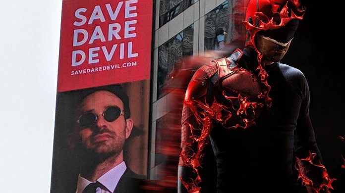 #SaveDaredevil Campaign Debuts Billboard in Times Square - by adam barnhardt, comicbook.com