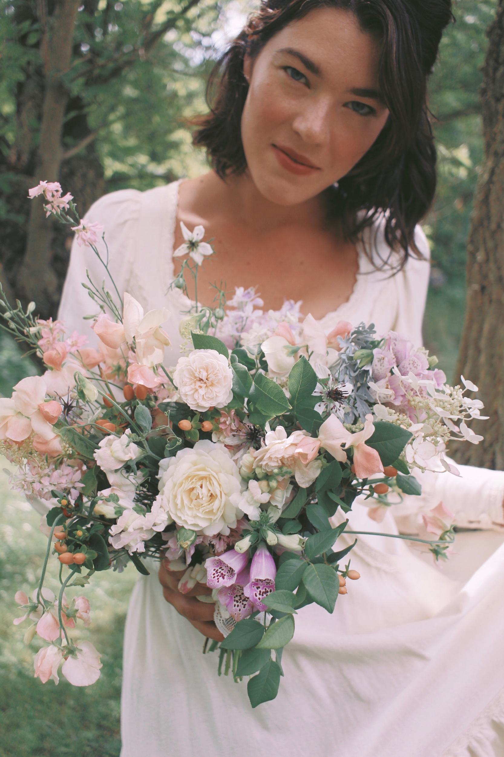 nostalgic, romantic, elemental, & wild — my flowers & I