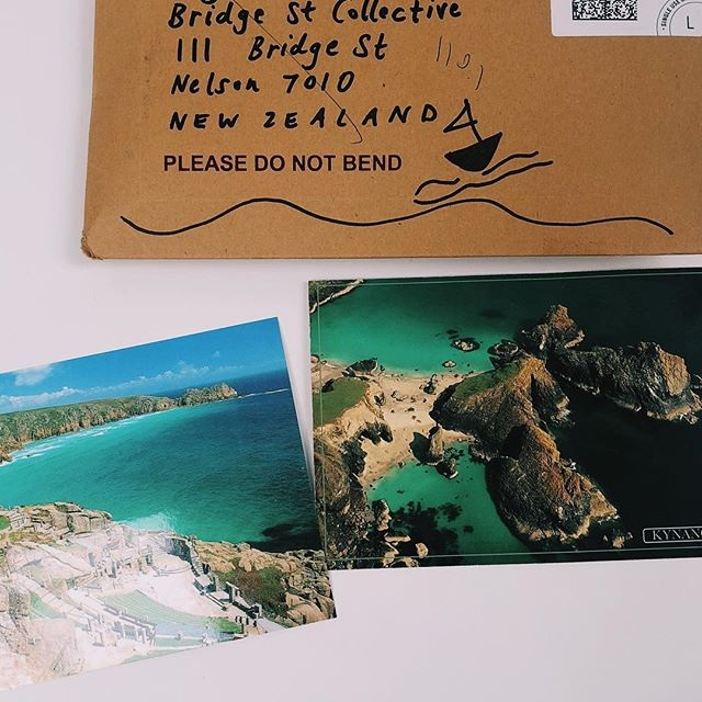 October 2018   We often get postcards from our members from their travels and holidays. It absolutely means the world to us! Our members truly make the Collective a fun, accepting, and creative place. It refuels us when our members take the time to send us letters and emails when they're overseas.