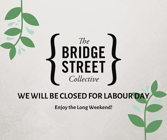 Another long weekend is right around the corner... We will be closed 28th October so stay safe and have a great Labour Day!  We are open again on Tuesday 29th ☀️🎉
