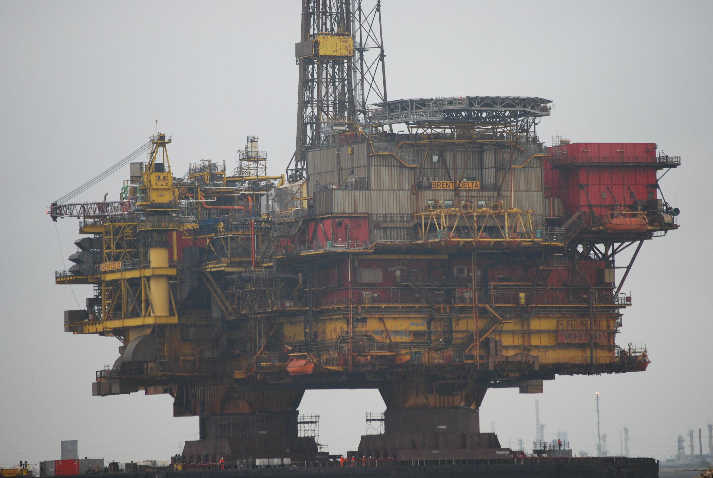 Off Shore Oil Field Diver -