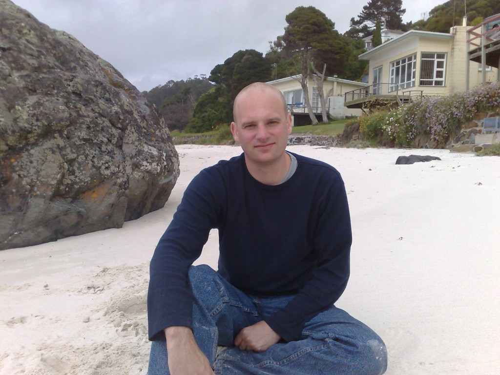 Mark enjoying some R&R in Tassie