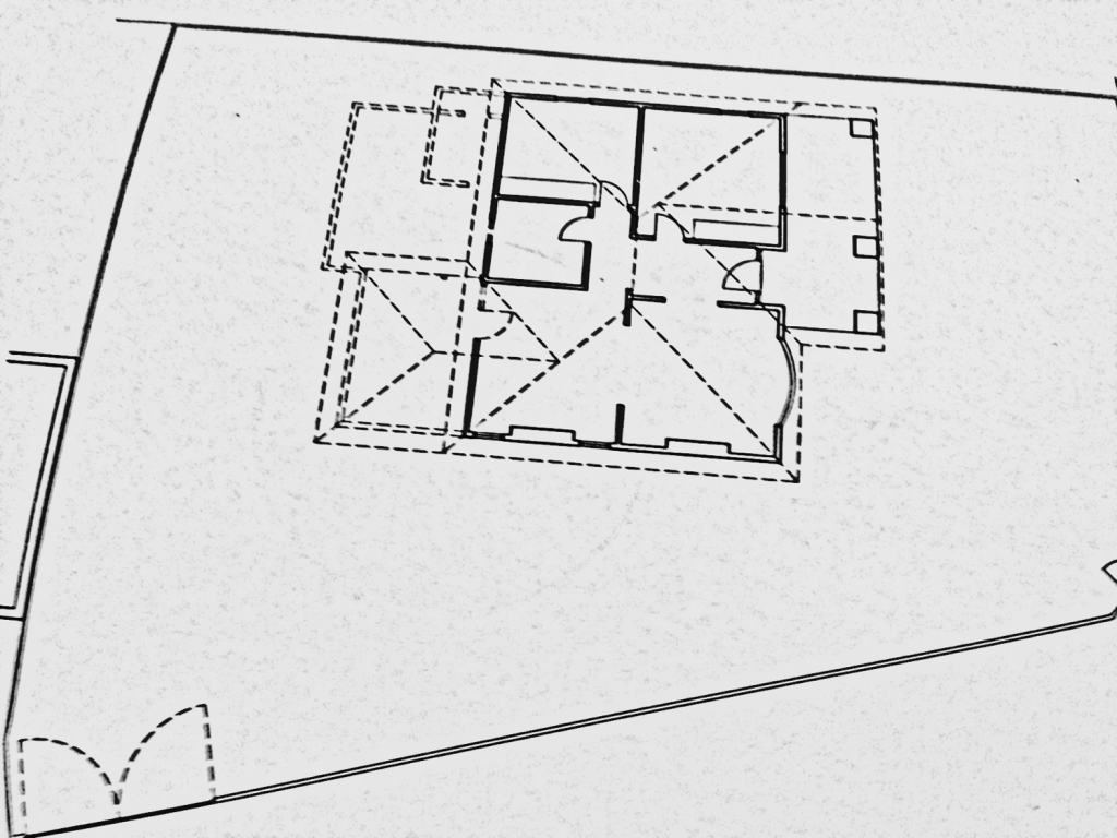 Spark Street Existing Floor Plan