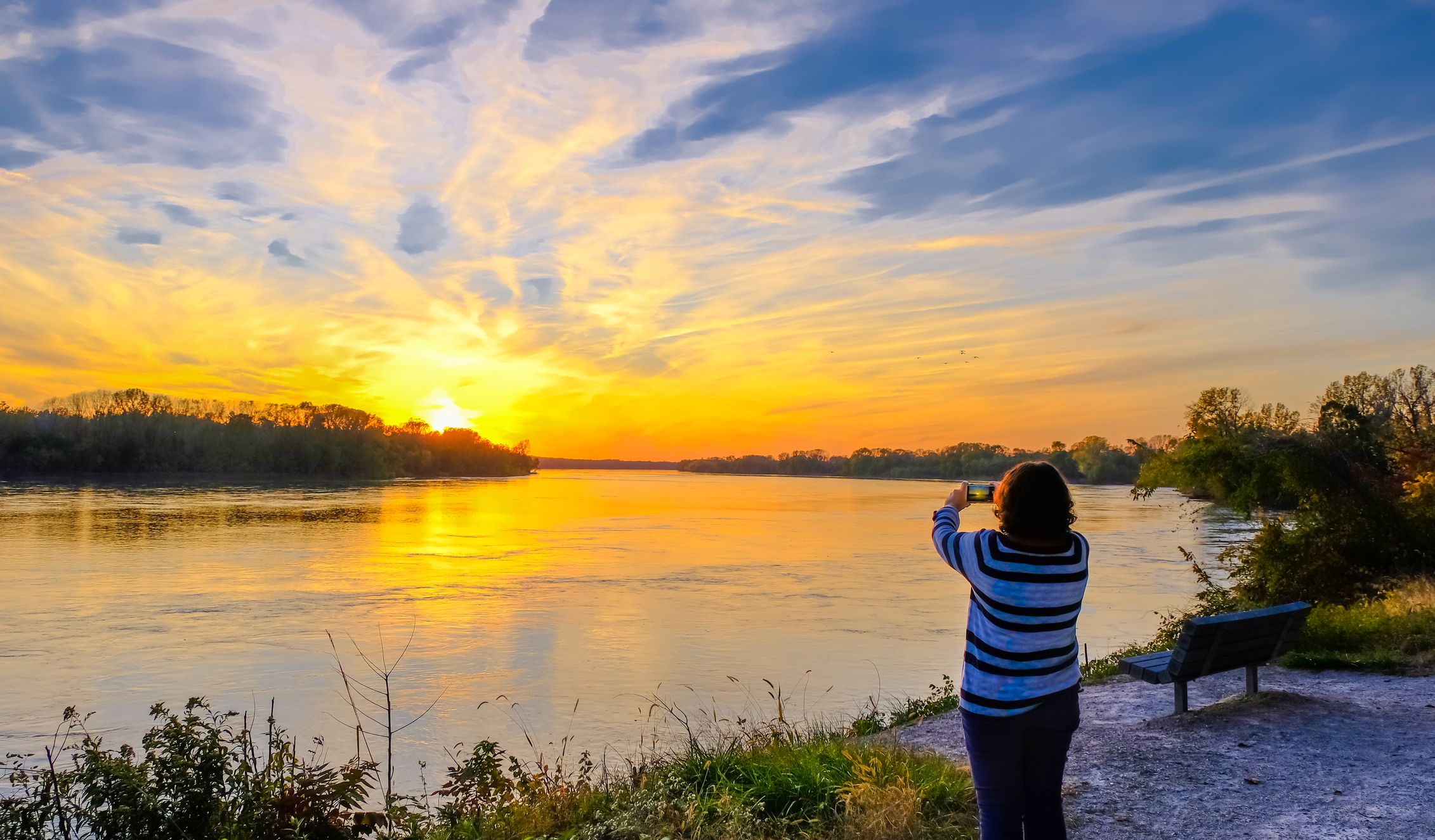Enjoy your days by the Missouri River which is home to over 150 fish species and about 300 species of birds.