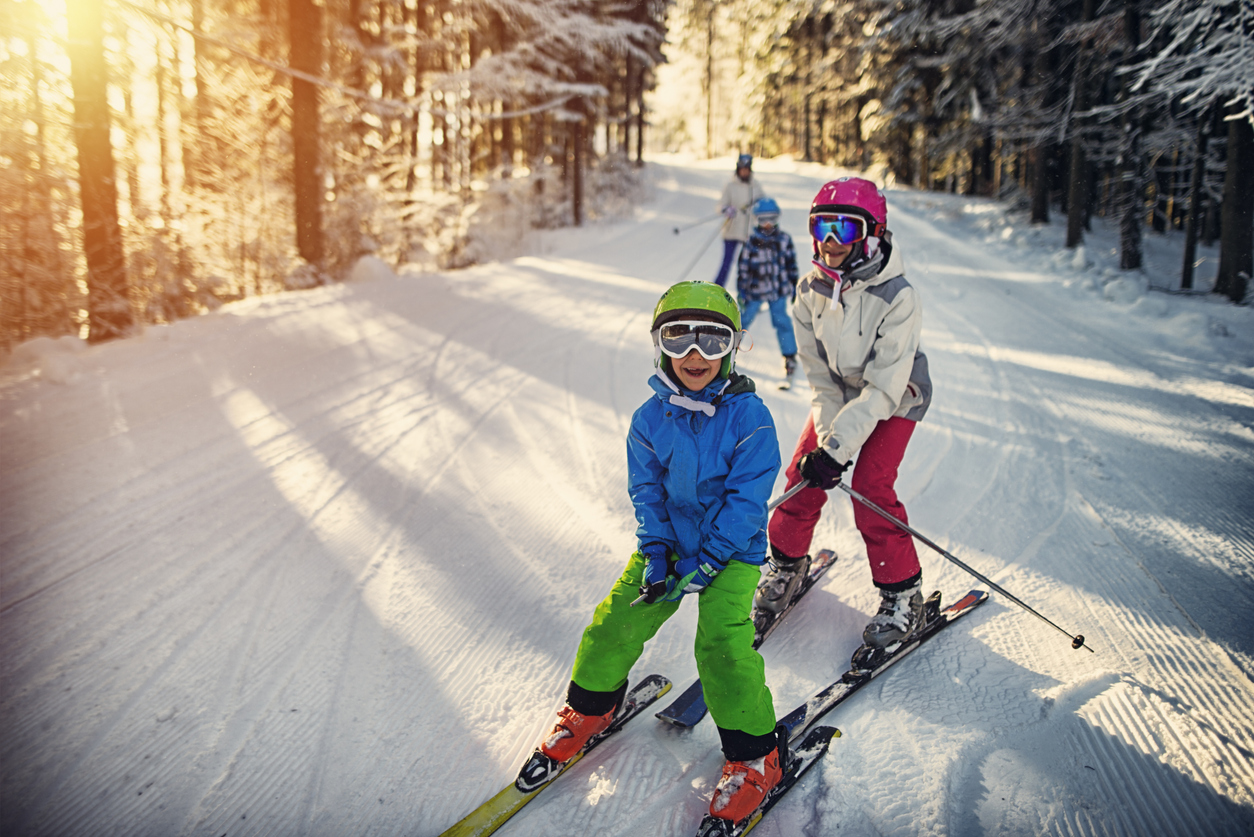 Spend the day at  Cone Park  where you will enjoy a 700 ft. tubing hill, ice skating rink and lodge in the winter months, and converts into a large splash pad, and a zipline during the summer.