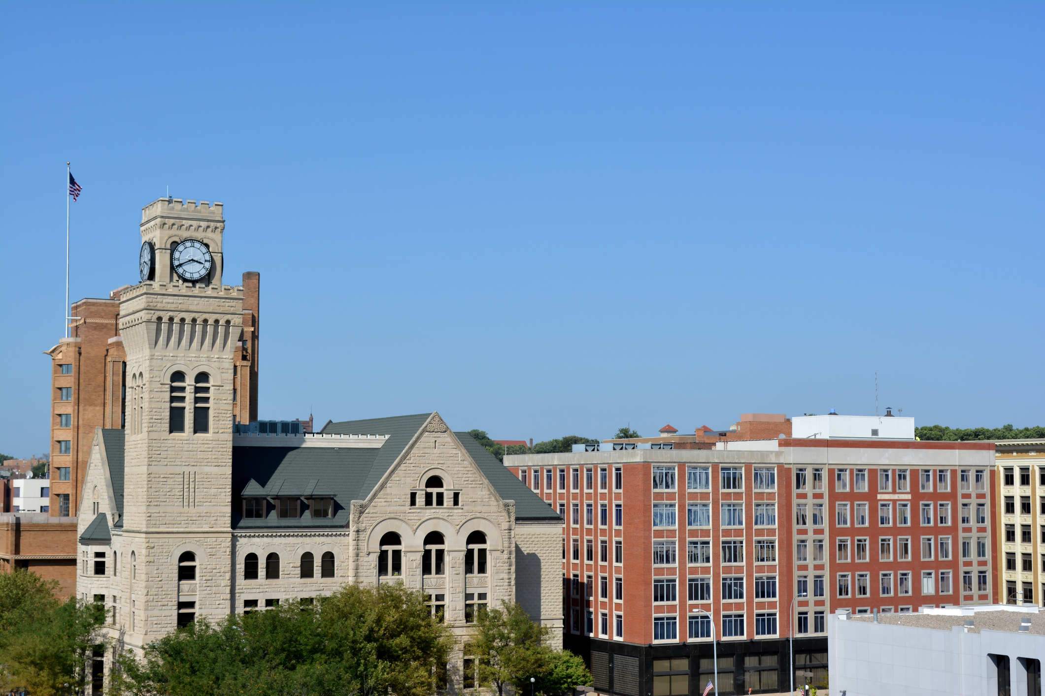 """Iowa was named the Best State in the Nation by  U.S. News & World Report , """"due to its strong performance in two important categories: opportunity and access to high-quality health care."""""""