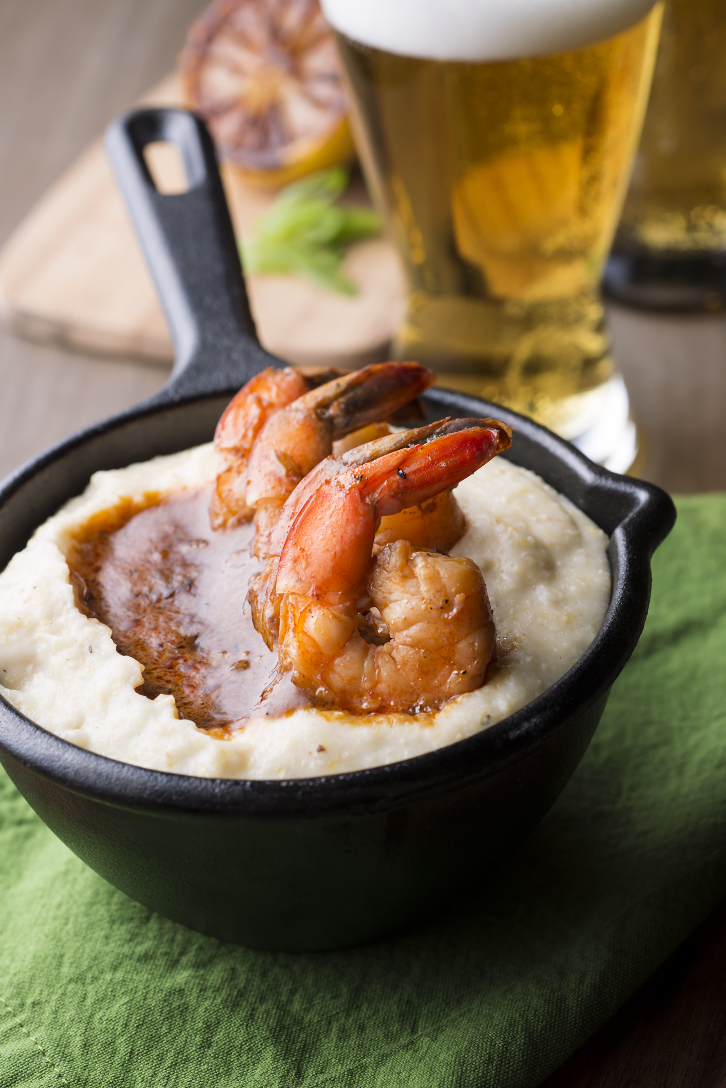 You'll no doubt get your fill of soul food, but with Albany's eclectic dining options, little is left to be desired. - Including some southern favorites like shrimp and grits.