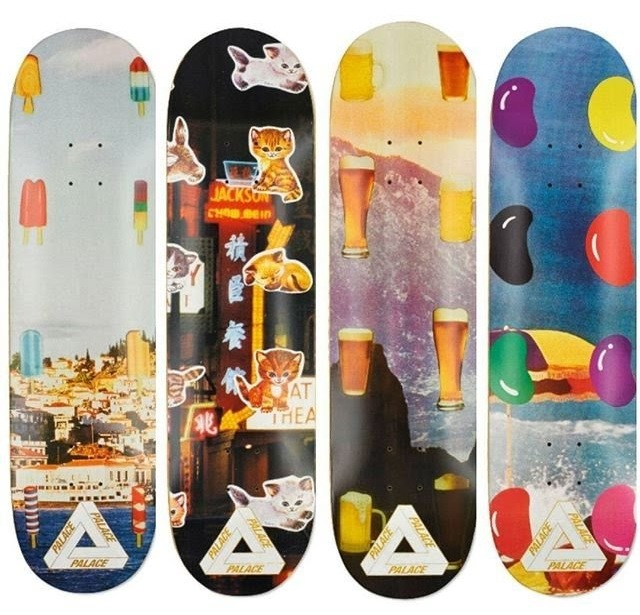 Graphics for Palace Skateboards