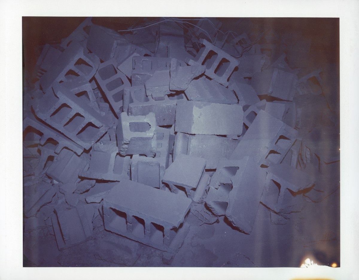 "Exposure #2 • Waltham, MA (Polaroid Factory) • 2009 • Expired Polaroid 809 • 8.5""x11"""