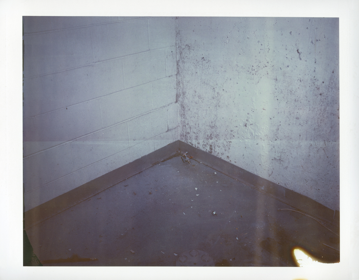 "Exposure #5 • Waltham, MA (Polaroid Factory) • 2009 • Expired Polaroid 809 • 8.5""x11"""