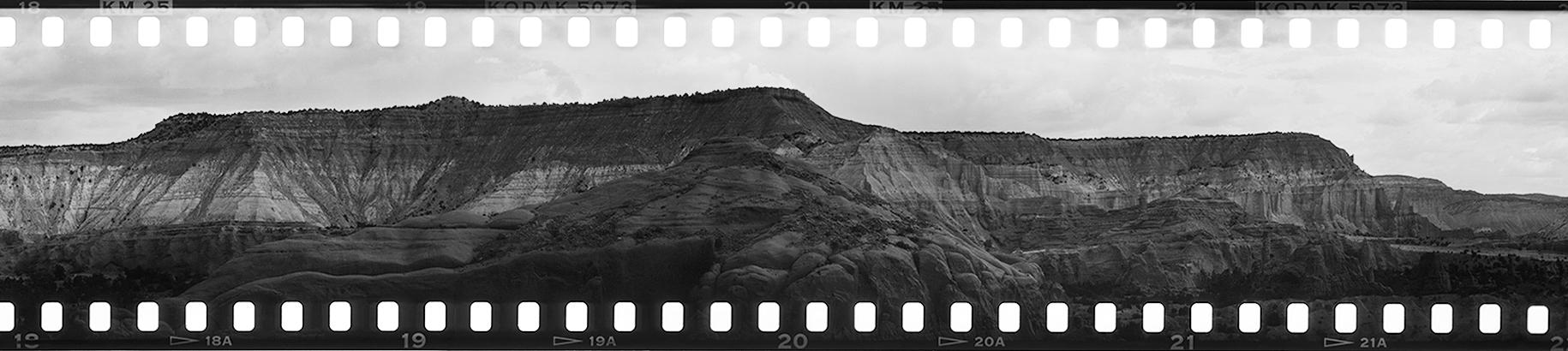 Kodak - Panorama Trail (Detail) • 2016 • Kodachrome Basin State Park, UT • 35mm Kodachrome (Black & White Reversal)