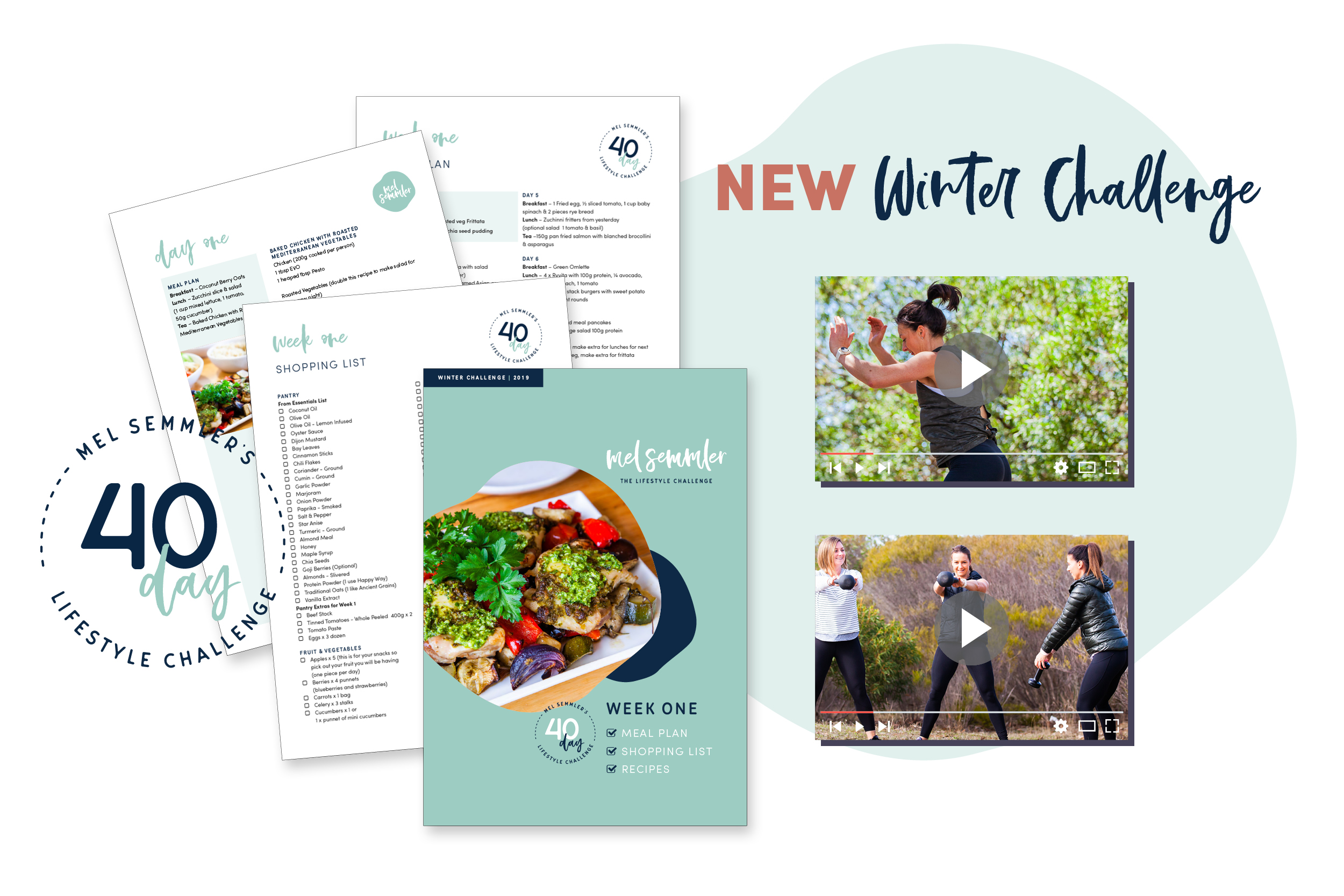 40 Day Winter Challenge Starts August 19th, 2019 - Sign up today to be part of a challenge that will lead to a healthier, happier you!