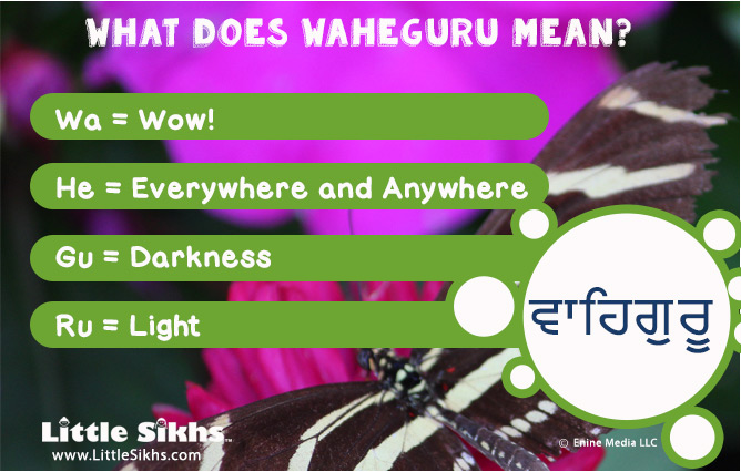 WHAT DOES WAHEGURU MEAN?