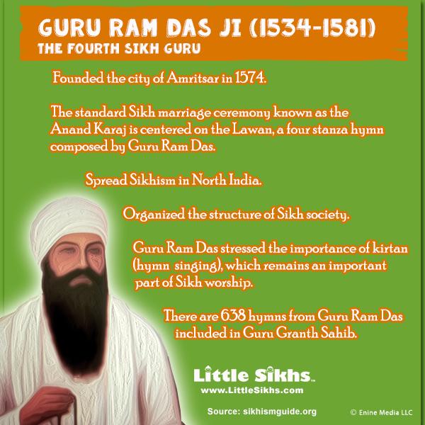 guru ram das ji little sikhs
