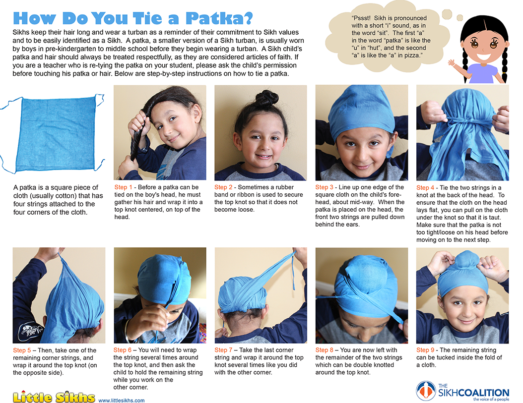 HOW DO YOU TIE A PATKA?  Download