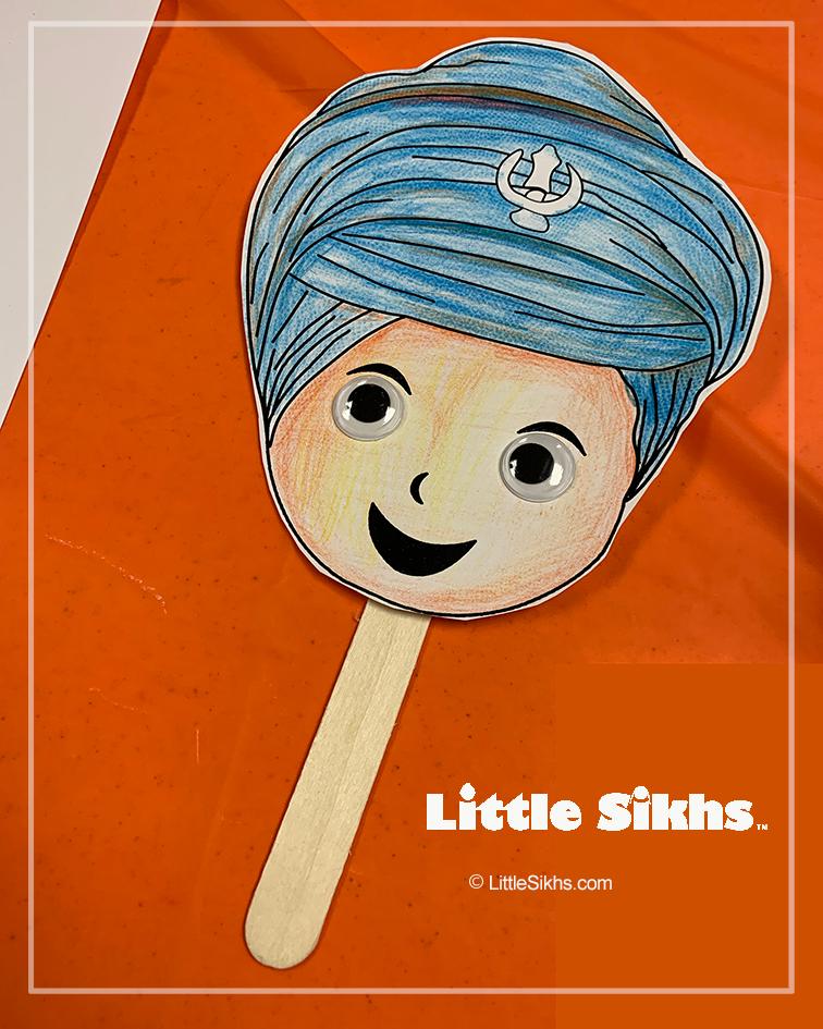 Little Sikhs Puppet Sample (Singh)